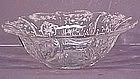"Fostoria Navarre Etch 12"" Bowl"