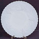 Imperial Grape Dinner Plate, Milkglass