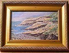 Signed Knife Work Oil OC Painting Rocky Maine Coast