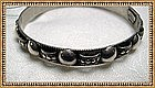 Vintage Peruzzi Sterling Silver Bangle Bracelet