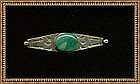 Vintage Early Native American Pin Unsigned Unmarked