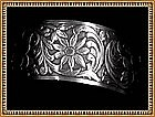 Vintage Beau Sterling Cuff Ornate Victorian Look