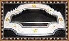 Vintage Watson Sterling Silver Sash Pin Brooch Enamel