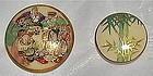 Antique Satsuma Button 7 People gods; Bamboo 2