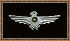 Thunderbird Native American Silver Pin Brooch Navajo