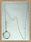Sterling Silver Lorgnette Y Chain Foster & Bailey F&B