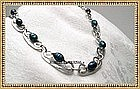 Signed Studio Sterling Hammered Choker by MIMI DEE