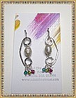 Signed MIMI DEE HANDMADE STERLING Earrings