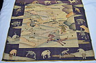 Antique Chinese kesi / kossu pictorial silk tapestry