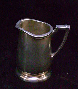 Fred Harvey Silver Creamer