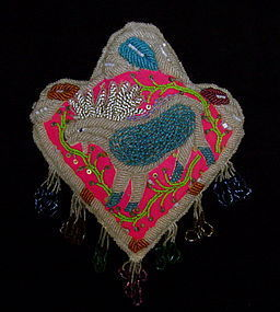 Iroquois Beaded Animal Whimsey
