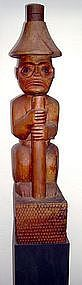 Bella Coola Potlatch Wood Figure c. 1890