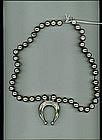 Navajo Squash Blossom Necklace c. 1930-40