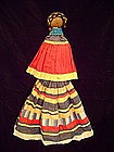 """Seminole Palmetto Doll Female c.1930-40"""