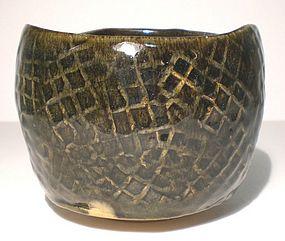 Ao Glazed  Tataki Teabowl (RL 1111tb)