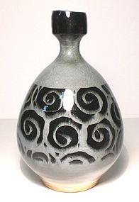 Ao Spirali Banded Bottle Vase