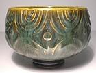 Haiyu & Temmoku Etched Porcelain Teabowl (1124tb)