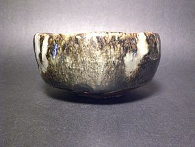 KAJIURA SOSHU WOOD FIRED ONI-SHINO CHAWAN