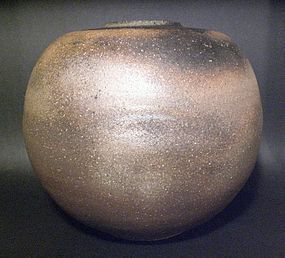 Large Tokoname Tsubo By Takeuchi Kimiaki