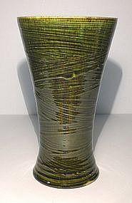 """Oribe Style Hakeme """"Waisted"""" Vase"""