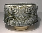 "Ao ""Spirali"" Etched Teabowl"