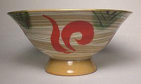 Aka-e & Hakeme Open Style Teabowl