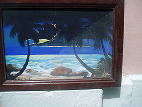 Puerto Rican Oil Painting Sgnd dtd 1967