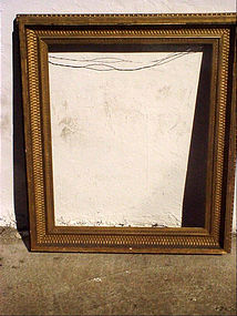 American Antique Frame -ca 1890s-Gold Leaf