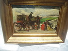 19thc Spanish Oil Painting Sgnd Lstd Sales