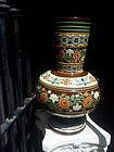 Large 19.5 inch Mexican Decorated Pottery Vase
