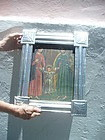 Spanish Colonial Retablo 19thc Holy Family