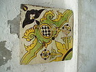 Lge 9 Inch 17thc Polychrome Dutch Delft  Tile