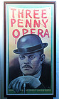 Puerto Rican Raul Julia Lithograph Poster Framed