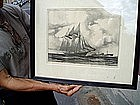 American Maritime Lithograph Listed G Grant 1940