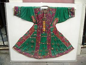 Antique Moroccan Wedding Dress Framed ca1910