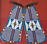 Extremely rare Herman Heiser Beaded Chaps late 1800's
