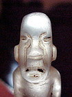 Olmec Quartz Cache Dagger w/video 1200BC