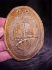 Bone Cross Gorget: Ex Davis Shown in Who