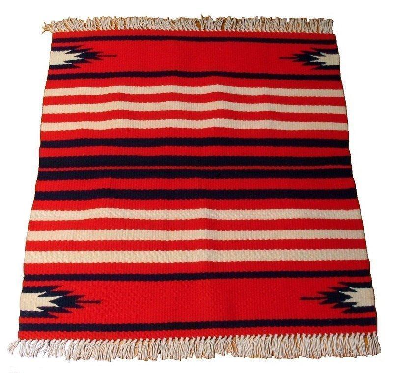Vintage Native American Chimayo Rug