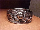 PEER SMED ARTS & CRAFTS STERLING REPOUSSE CUFF