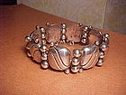 WILLIAM SPRATLING SILVER PILLOW BRACELET
