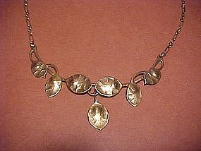 JO MICHELS STERLING ART NOUVEAU NECKLACE