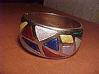 BALLE NORWAY STERLING ENAMEL BRACELET