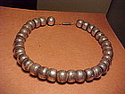 WILLIAM SPRATLING LARGE STERLING BEADS NECKLACE