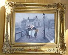 Phyllis Hollands-Robinson Oil Painting European Scene