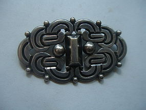 Rafael Dominguez Taxco Mexican Sterling  Brooch 980