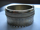 Antique Victorian Sterling Silver Bangle Bracelet