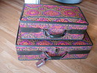 Vintage MOD Tapestry Hartmann Luggage Set