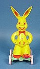 Rosbro Hard Plastic Easter Bunny Pull Toy