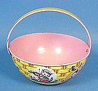Chein Lithographed Tin Easter Basket